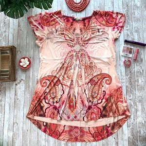 Live and Let Live short sleeve tunic